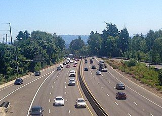 Terwilliger curves dangerous stretch of highway in Portland, Oregon, USA