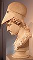 Testa di atena di tipo velletri, opera romana da orig. greco del 400 ac ca. 02.JPG