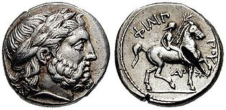Philip II of Macedon - Silver tetradrachms dated back to the reign of Philip II
