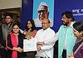 "Thaawar Chand Gehlot conferred the prizes to the winners of ""Babu Jagjivan Ram All India Essay Competition 2015"", organised by the Babu Jagjivan Ram National Foundation (BJNRF), in New Delhi (2).jpg"