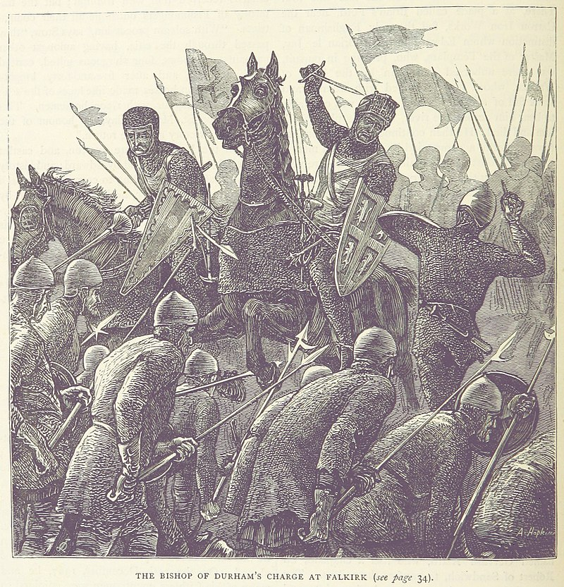 The Bishop of Durham's Charge at Falkirk.jpg