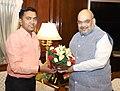 The Chief Minister of Goa, Shri Pramod Sawant calling on the Union Home Minister, Shri Amit Shah, in New Delhi on June 14, 2019.jpg