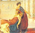 The Death of Cleopatra by Valentine Cameron Prinsep.jpg