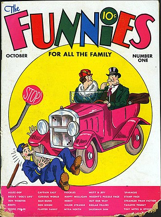 The Funnies - Image: The Funnies vol 2 1