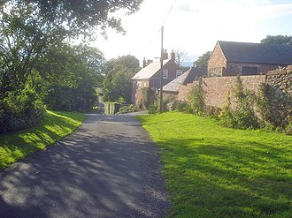 Normanton le Heath - Image: The Hollow geograph.org.uk 1499221