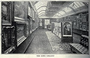 Grafton Galleries - The Long Gallery at the Grafton Galleries, The Graphic, 25 February 1893