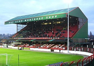 The Oval (Belfast) - Main stand