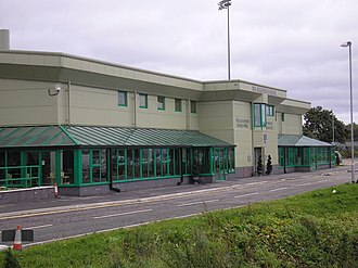 Victoria Stadium (Northwich) - Image: The Marston's Arena, Northwich Victoria FC geograph.org.uk 996146