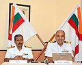 The Naval Officer-in-Charge (West Bengal), Commodore Ravi Ahluwalia addressing a press conference on the occasion of 'Navy Week – 2013', at Kolkata on December 02, 2013.jpg