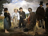 Figurative painting of Manet