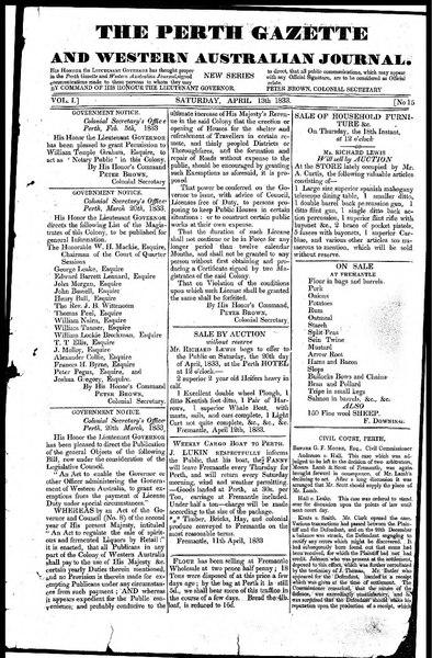 File:The Perth Gazette and Western Australian Journal 1(15).djvu