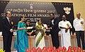The President, Smt. Pratibha Devisingh Patil presenting the Best Actor Award to Shri Prakash Raj for Tamil Film Kanchivaram, at the 55th National Film Awards function, in New Delhi on October 21, 2009.jpg