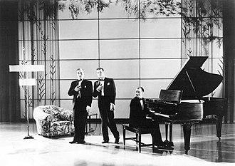 "The Rhythm Boys - The Rhythm Boys performing ""So the Bluebirds and the Blackbirds Got Together"" in King of Jazz"