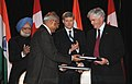 The Secretary, Department of Atomic Energy, Srikumar Banerjee and the Canadian Foreign Minister.jpg