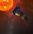 The Solar Probe Plus spacecraft will plunge directly into the sun's atmosphere (4954566569).jpg
