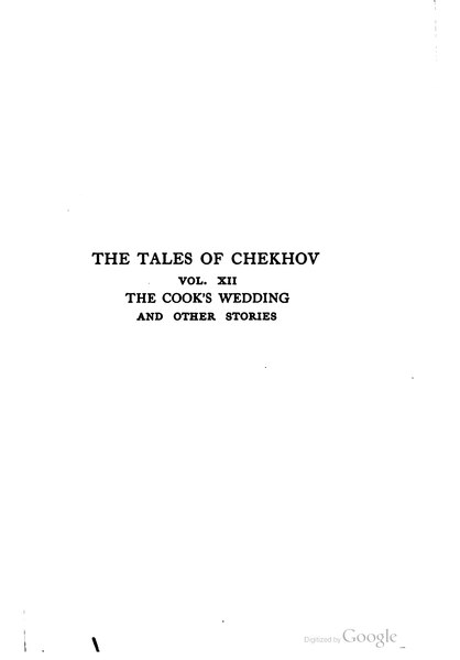 File:The Tales of Chekhov, vol. XII.djvu