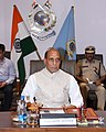 The Union Home Minister, Shri Rajnath Singh visiting the Central Reserve Police Force (CRPF) headquarters, in New Delhi on June 26, 2014.jpg