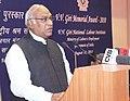 The Union Minister for Labour and Employment, Shri Mallikarjun Kharge addressing at the presentation of the V.V. Giri Memorial Award 2010, in New Delhi on August 10, 2011.jpg