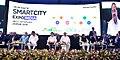 The Vice President, Shri M. Venkaiah Naidu at the inaugural session of the Smart City Expo India 2018, in Jaipur, Rajasthan.JPG