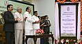 The Vice President, Shri M. Venkaiah Naidu inaugurating the 400kWp Solar Power Plant at Raj Bhavan, in Chennai, Tamil Nadu.jpg