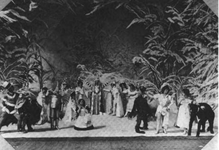 Teatre musical a Broadway, any 1903