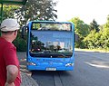 The bus arives at the stop near the campingplatz in Bug - geo.hlipp.de - 21140.jpg