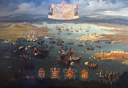 The conquest of Preveza by unknown painter (17th century) The conquest of Preveza.jpg