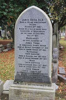 James Bryce (geologist) Irish naturalist and geologist