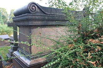 Dryden baronets - The grave of Sir Edward Henry Page Turner (1823-1874), Brompton Cemetery, London