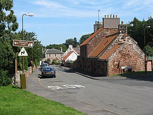 Garvald, East Lothian - Image: The main street in Garvald (geograph 2530158)