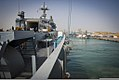 The mine countermeasures ship USS Devastator (MCM 6) gets underway during International Mine Countermeasures Exercise (IMCMEX) 2013 at Naval Support Activity Bahrain, Manama, Bahrain, May 13, 2013 130513-N-PX130-001.jpg