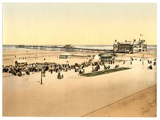 Clwyd - The Pier at Rhyl, about 1900