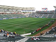 The pitch at the Home Depot Center.jpg