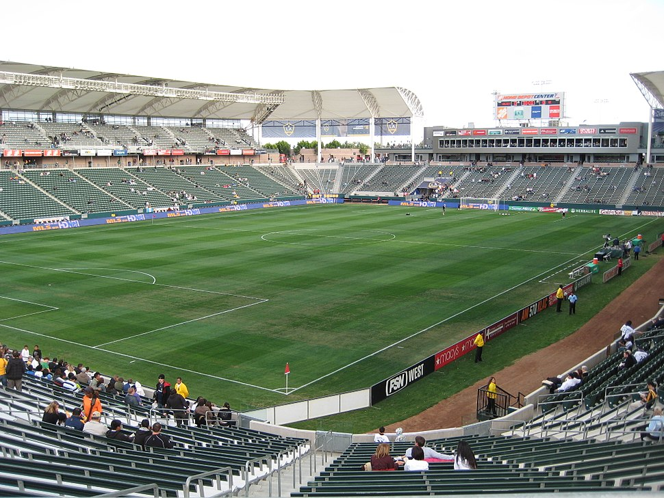 The pitch at the Home Depot Center