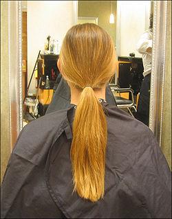 The ponytail still intact.jpg