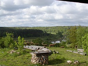 The view from the window of Nikolay Polissky's house.JPG