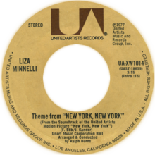 Theme from New York New York by Liza Minnelli US vinyl.png
