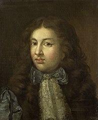 Portrait of Thedoor Netscher (1661-1728), the painter's oldest son