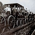 Thomas Meighan & DeWitt Clinton Locomotive 1921.jpg