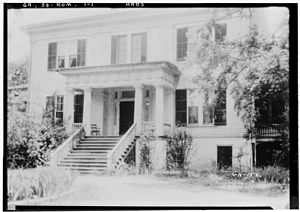 Rome, Georgia - The historic Thornwood mansion was occupied by Union troops during the Civil War. The house is now part of the Shorter College