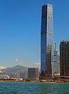 Tian Mo Shan and ICC building, Hong Kong.jpg