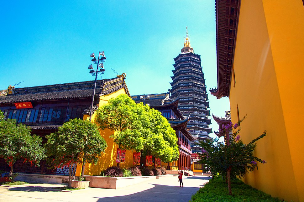 Tianning Temple with Tianning Pagoda