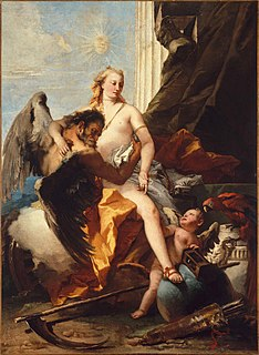 <i>Time Unveiling Truth</i> (Tiepolo) painting by Giovanni Battista Tiepolo