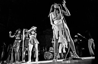 Tina Turner - Turner performing in 1972