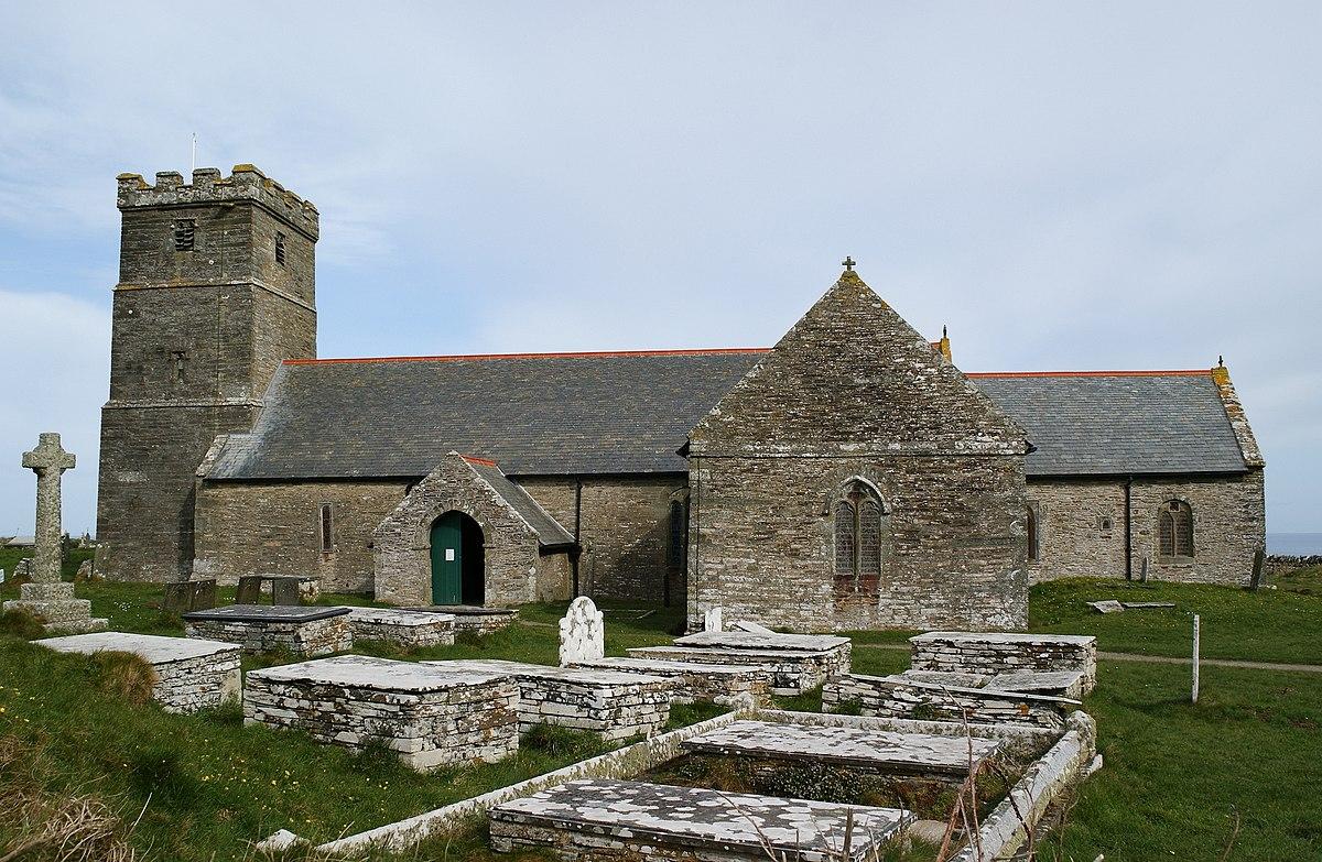 St Materiana's Church, Tintagel - Wikipedia