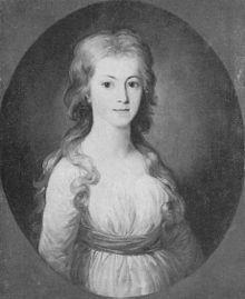 Elisa von der Recke (Tischbein, um 1775) (Quelle: Wikimedia)