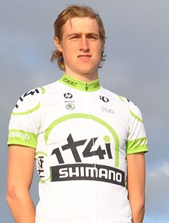 Tobias Ludvigsson Swedish cyclist