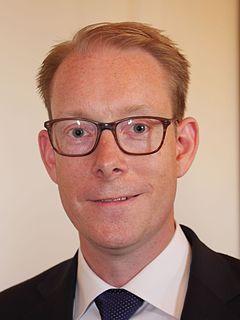 Tobias Billström Swedish politician
