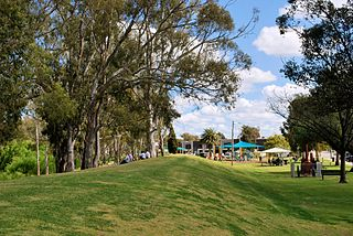Tocumwal Town in New South Wales, Australia