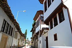 Traditional houses of Tokat.